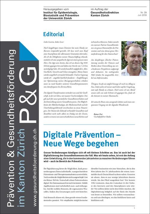 Digitale Prävention