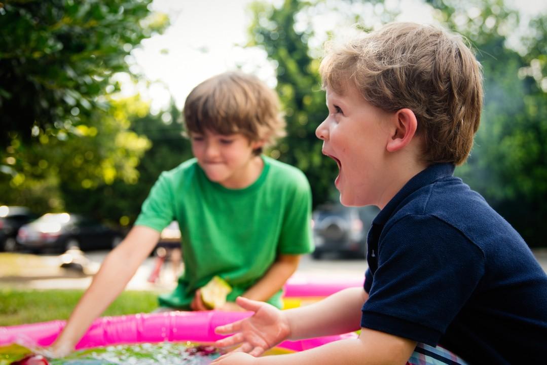 Kinder Spielen Spass
