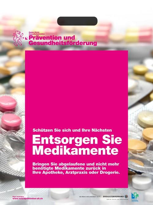 Tragtaschen zur Medikamentenrückgabe
