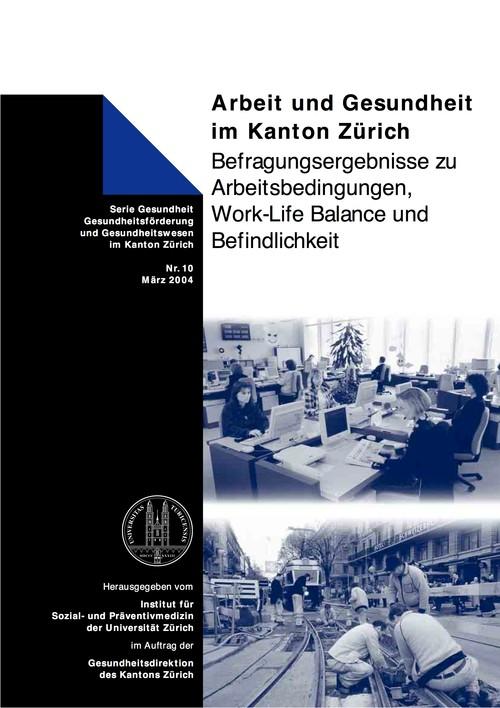 Arbeit und Gesundheit im Kanton Zürich
