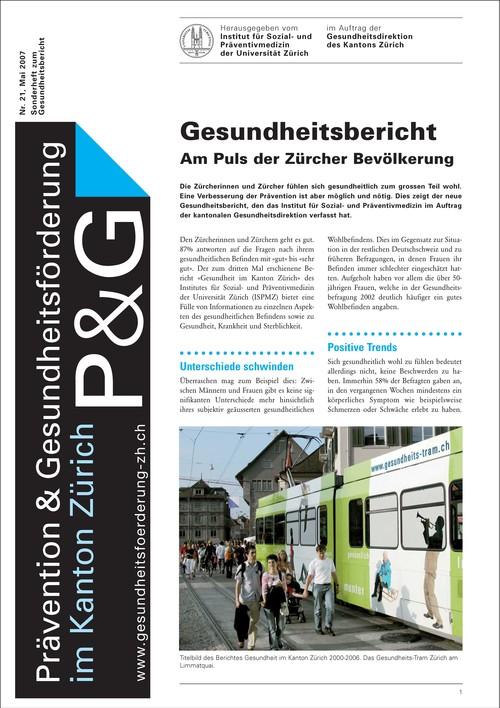 Gesundheit im Kanton Zürich 2000-2006
