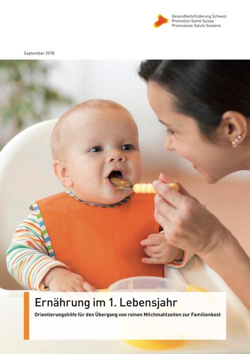 Ernährung im 1. Lebensjahr