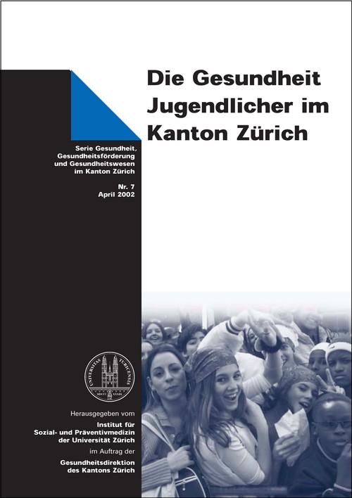 Gesundheit Jugendlicher im Kanton Zürich