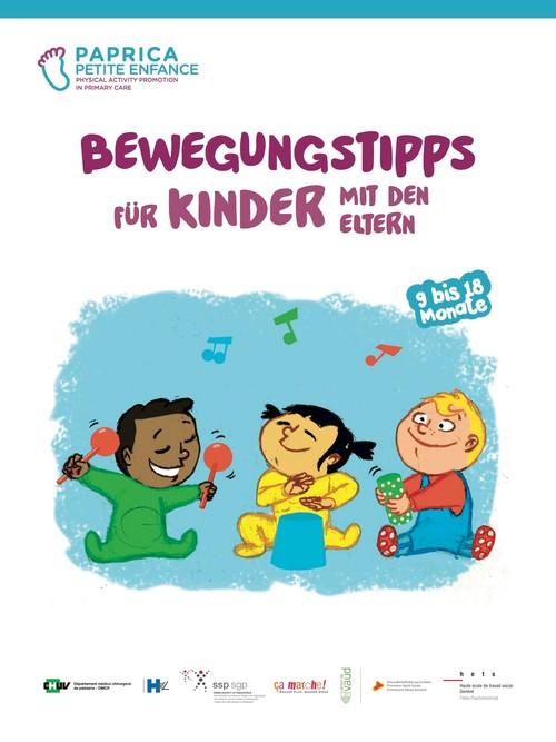 Bewegungstipps für Kinder mit den Eltern