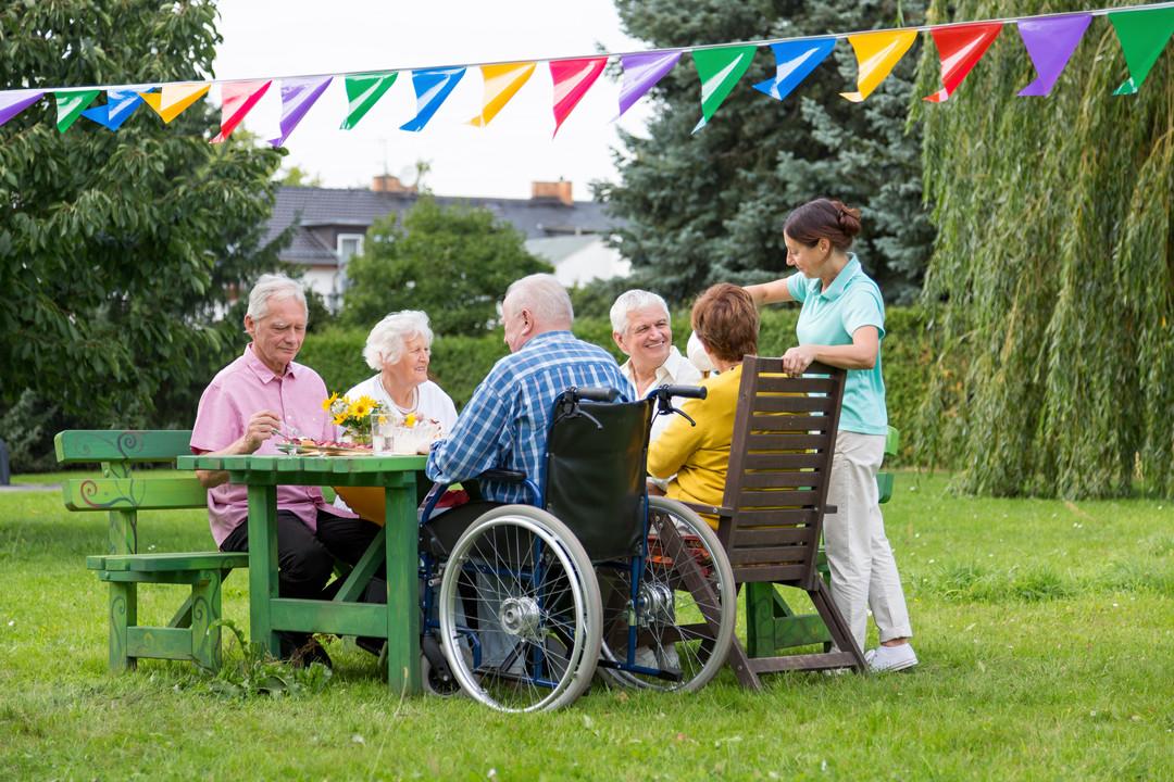 Ältere Menschen Betagte Pflege