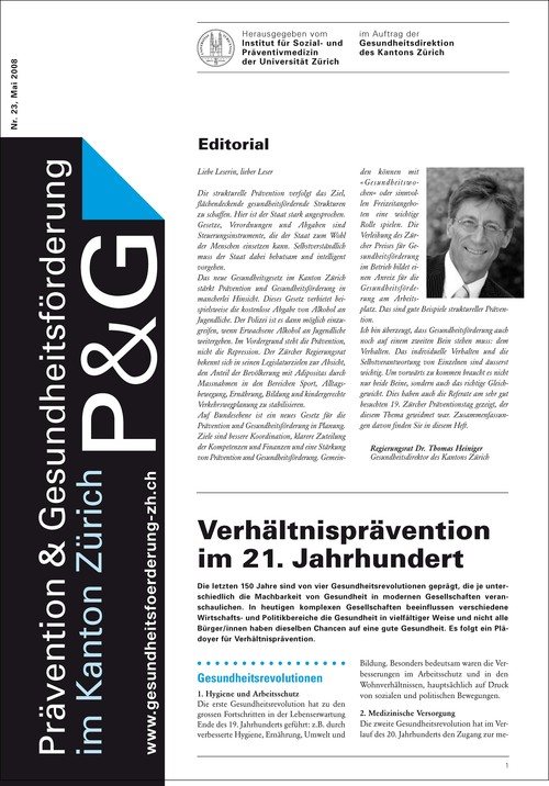 Perspektiven der strukturellen Prävention